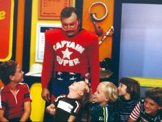 "Captain Super Of The ""Wallace And Ladmo"" Show- CBS 5 - KPHO Phoenix, AZ"