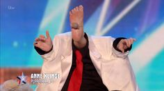 Puppeteer, Anne Klinge, with her unique act on Britain's Got Talent 2016, Audition week 5.