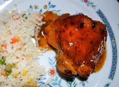 La receta de pollo con salsa agridulce te va a encantar, es una receta de pollo fácil con una salsa de mango y vino blanco, que está riquísima. Es un platillo económico, sabroso y es una alternativa a las recetas de pollo que normalmente cocinas.