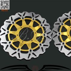 222.99$  Watch now - http://alielx.worldwells.pw/go.php?t=32541225715 - Motorcycle Accessories Front Brake Discs Rotor For Honda CBR1000RR 2006 2007 2008 2009 2010 2011 2012