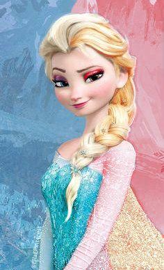 Frozen~Half ice half fire Elsa