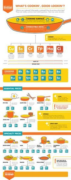 Infographic: Cookware Basics 101