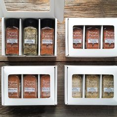 GREAT NEWS!! Our Signature Blends are back in stock and shipping next week! We've also brought back the single-flavor 3-packs of our Signature Blends as well in case you want to order your favorite! We ALSO just started offering a Blends Bundle with all our favorite blends.  # Visit the link in our profile to order!  # #primalpalatespices #primalspices #adobo #meatandpotatoes #bbqrub