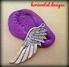 MOLD Large Angel or Fairy Wing Silicone Mould by HorizontalDesigns, $5.99  Steampunk Fantasy Jewelry DIY