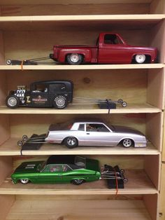 Right side of my slot car box