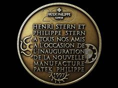 """Patek Philippe Geneve commemorative medal coin unframed print. Photograph shows the back side. Price starts at $26 (Petite 8"""" x 10"""")."""
