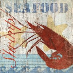 Seafood Sign. Love it.  That's why it's under things we love. duh.