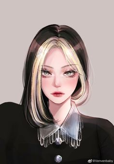 Pretty Anime Girl, Beautiful Anime Girl, Kawaii Anime Girl, Anime Art Girl, Arte Digital Fantasy, Digital Art Anime, Digital Art Girl, Girl Cartoon, Cartoon Art