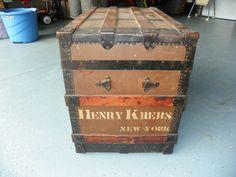 Antique Spotlight: Taking A Closer Look At Antique Trunks!