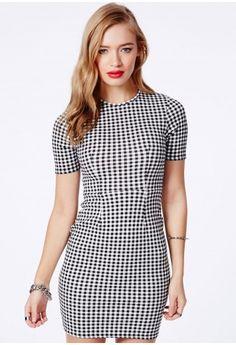 Capitolina Gingham Mini Dress - Dresses - Mini Dresses - Missguided