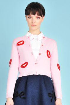 Florian 3D Lips Sweater // Vivetta