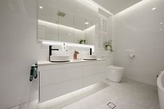 The Block room reveals: season 14 main bathrooms - The Interiors Addict Reece Bathroom, Bathroom Rules, Brown Bathroom, Bathroom Sets, Bathroom Faucets, Small Bathroom, Master Bathroom, The Block Room Reveals, The Block Bathroom