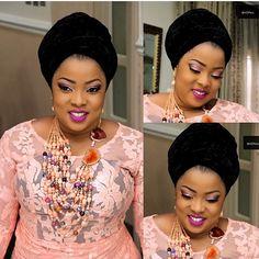 Look Amazingly Beautiful In These Stunning & Undiluted Aso-ebi Styles - Wedding Digest Naija