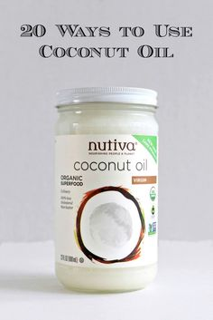 Learn the top 20 ways to incorporate Coconut Oil a Superfood that has many amazing health benefits into your cooking and daily beauty regimen. Once you start adding Coconut Oil into your daily life you will see how versatile and beneficial it really is! Coconut Oil Pulling Benefits, Coconut Oil Uses For Skin, Natural Coconut Oil, Recipe With Coconut Oil, Diys With Coconut Oil, Hair Coconut Oil, Organic Coconut Oil Uses, Coconut Oil Beauty, Cooking With Coconut Oil