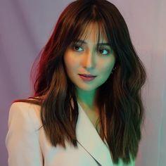 Kathryn Bernardo Hairstyle, Filipina Actress, Bangs, Asian Girl, Hair Cuts, Beautiful Women, Actresses, Celebrities, Hair Styles