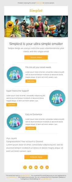Best Transactional Emails Images On Pinterest Html Email - Transactional email templates