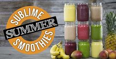 9 Summer Smoothies