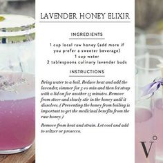 Lavender Honey Elixir