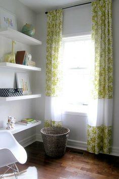 Modern White Nursery - Neutral Baby Room (Like the shelves) Baby Room Neutral, Nursery Neutral, Gender Neutral, Neutral Nurseries, Blue Green Rooms, Diy Hanging Shelves, Wall Shelves, Floating Shelves, Book Shelves