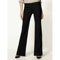 Theory Max C Flared Pants ($245) ❤ liked on Polyvore