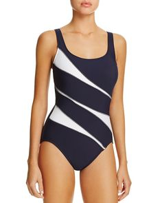 f31fc6b616 Miraclesuit Sports Page Helix One Piece Swimsuit Women - Swimsuits    Cover-Ups - Bloomingdale s