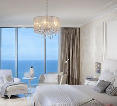 Choosing the Bedroom Chandeliers add length and width of room =diameter in inches of Chandelier --guideline at least