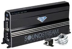 Soundstream DTR1.1700D 1700W RMS, D-Tower Series Class D Monoblock Power Amplifier by Soundstream. $169.99. Tired of the same ol' thing? Like to be different? So do we! Check out the D-Tower amplifiers for something truly revolutionary. When you don't have a lot of floor space to give up, Go Vertical! The DTR1.2200D yields over 2000 watts of power in only 52 square inches. By comparison, our Tarantula TRX2000D takes up 250.8 square inches. You can fit almost FIVE DTR1.2200D ampli...