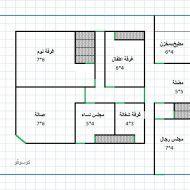 مخطط منزل 150 متر طابق واحد Floor Plans How To Plan Best