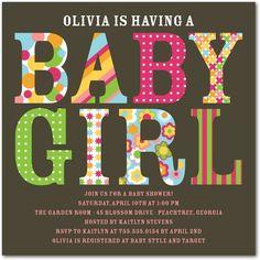 elegant baby shower invitations | Elegant Baby Shower Invitations: If the Baby Shower is in a formal ...