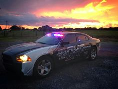 Oklahoma Highway Patrol Recruitment Unit Dodge Charger Slicktop