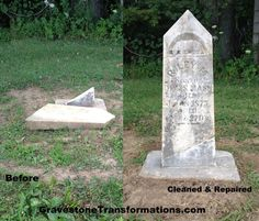 Central and Southern Ohio, We Need To Preserve Our Historic Gravestones. They Are Works of Art That Capture Our Family's Stories. Contact Gravestone Transformations to CLEAN, REPAIR and RESET your ancestor's monuments TODAY! They're Passionate About Preserving History, One Gravestone At A Time. They take care of CONSERVATION and PRESERVATION of Veteran Markers, Headstones, Footstones, Mausoleums, Monuments, Tombs, Statues, Benches and even Urns.   Let's Get Started Central and Southern Ohio…