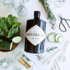 View our cucumber-rosemary gin and tonic recipe on @minted's blog! #maraboudesign