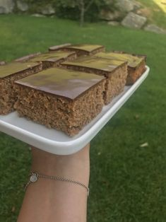 Chocolate Zucchini cake - baking with Christina . Zucchini Lasagne, Zucchini Cake, Cake & Co, Dessert Table, No Bake Cake, How To Dry Basil, Sweet Recipes, Brunch, Food And Drink