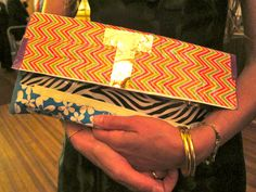 duct tape clutch #diy