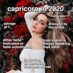 the signs in 2020 part two: capricorn-pisces follow me for more - -  #aries #taurus #gemini #cancer #leo #virgo #libra #scorpio #sagittarius #capricorn #aquarius #pisces #astrologypost #zodiacpost #astrologymemes #zodiacmemes #astrologysigns #zodiac #astrology #zodiacfacts #horoscope #horoscopesigns #horoscopeposts #leoseason #watersigns #firesigns #airsigns #earthsigns #astro Zodiac Posts, Zodiac Memes, Horoscope Signs, Astrology Signs, Sagittarius, Aquarius, Daily Zodiac, Leo Season, Air Signs