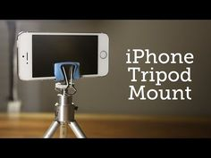 How to: Make a Simple + Clever iPhone Tripod Mount | Man Made DIY | Crafts for Men | Keywords: iphone, technology, smartphone, how-to