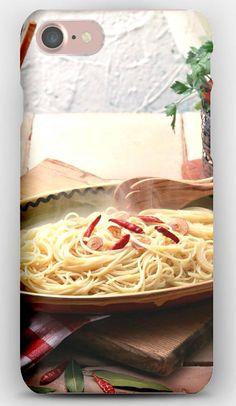 iPhone 7 Case Pasta, Food, Tasty