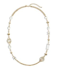 Chico's Tia Long Necklace #chicos