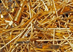Gold plated industrial pins