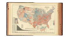 This Is The Very First Electoral Map Dividing The U.S. Into Red States And Blue States   Co.Design   business + design