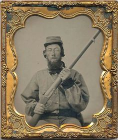 "Unidentified Confederate Soldier in Co. H ""the Caswell Boys"" 6th North Carolina Infantry"