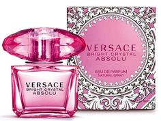 Absolute sensuality. Absolute transparency. Absolute brightness. An absolute temptation. Versace introduces Bright Crystal Absolu, the intense version of one of the most beloved jewel-fragrances in th