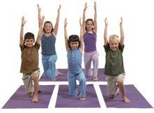 Kids benefit from Yoga Calm for Children