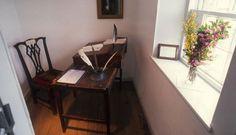 Robert Burns' writing desk