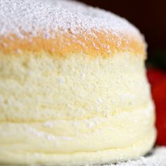 Fluffy Jiggly Japanischer Käsekuchen Rezept von Tasty recipe dessert Fluffy Jiggly Japanese Cheesecake Recipe by Tasty Food Cakes, Cupcake Cakes, Cupcakes, Japanese Jiggly Cheesecake Recipe, Japanese Fluffy Cheesecake, Japanese Cheescake, Recipe For Japanese Cheesecake, Uncle Tetsu Cheesecake Recipe, Cupcake
