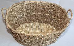 Seagrass Storage Baskets, Wicker Baskets, Basket Storage, Easter Baskets, Gift Baskets, Handicraft, Gifts, Gift Ideas, Amazon