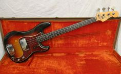 1961 Fender Precision Bass Sunburst