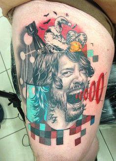 11 - Foo Fighters Fan Tattoos
