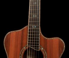 Brazilian Rosewood Custom Guitar, the Alchemist, with Sinker Redwood top crafted by NC luthier Jay Lichty G84
