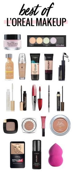 Das beste L'Oreal Make-up - schminken Make Up Loreal, Makeup Guide, Makeup Tools, Makeup Brushes, All Things Beauty, Beauty Make Up, Beauty Box, Maquillage Loreal, Drugstore Makeup Dupes